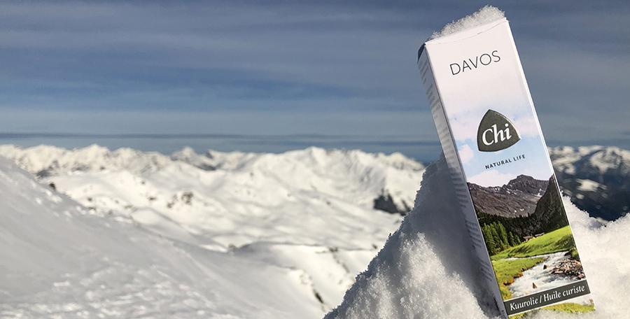 Davos Air Kuurolie  - Verfrissing