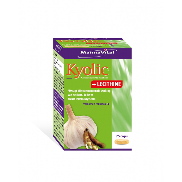 Mannavital Kyolic + Lecithine