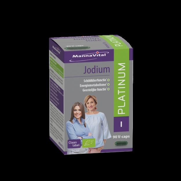 Mannavital Jodium Platinum