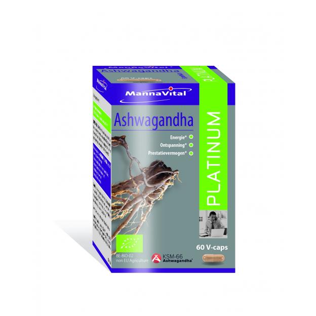 Mannavital Ashwaganda Platinum