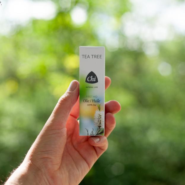Tea Tree etherische olie, biologisch