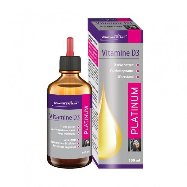 Mannavital Vitamine D3 Platinum