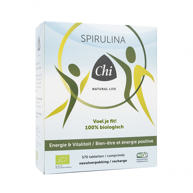 Chi Bio Spirulina navulling