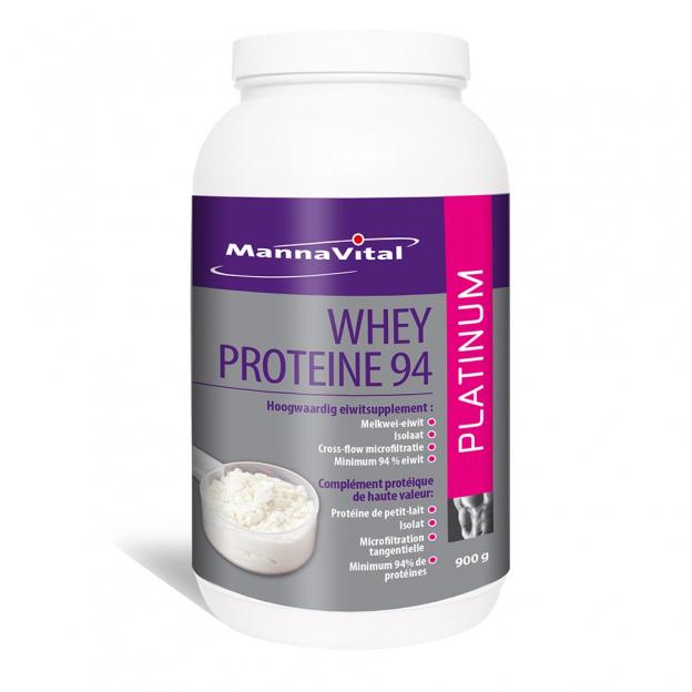 Mannavital Whey-proteïne 94 Platinum