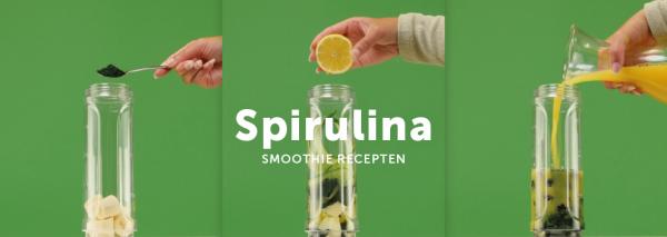 3x Spirulina Smoothie recept